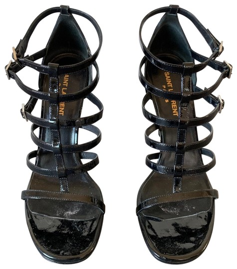 Preload https://img-static.tradesy.com/item/27001814/saint-laurent-black-patent-multi-stripe-sandal-formal-shoes-size-eu-38-approx-us-8-regular-m-b-0-1-540-540.jpg