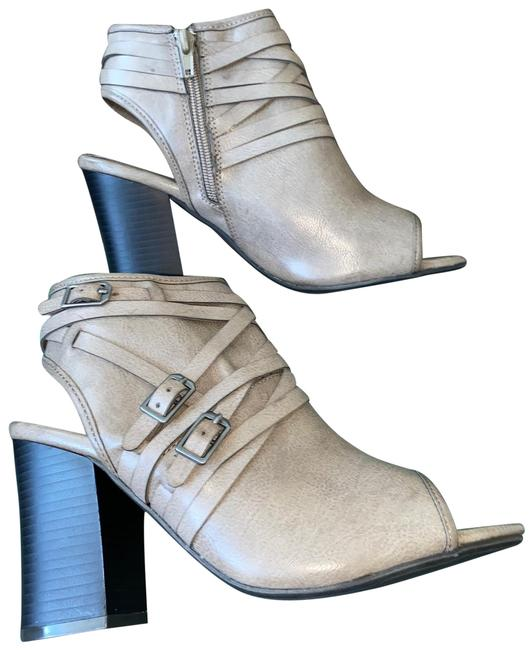 Item - Open Toe Boots/Booties Size US 7 Regular (M, B)