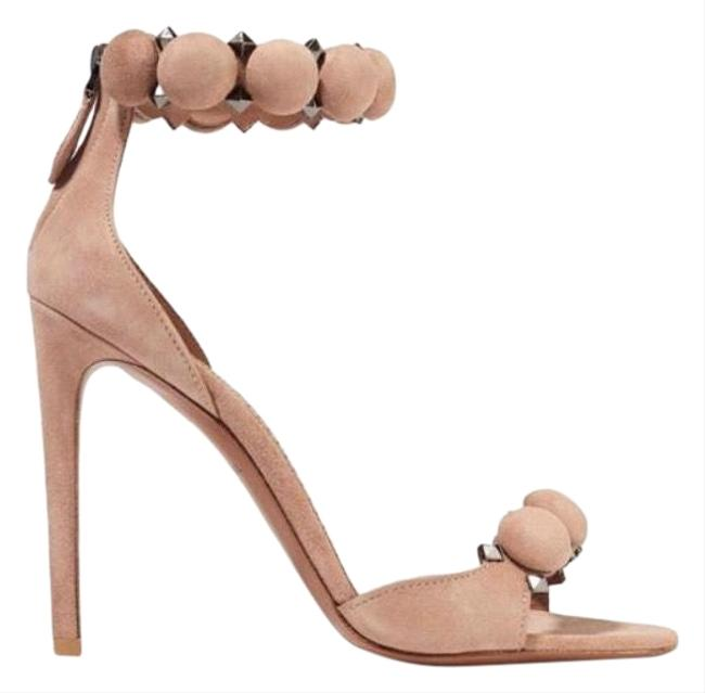 ALAÏA Bombe 110 Studded Suede Leather Heels Sandals Size EU 36 (Approx. US 6) Regular (M, B) ALAÏA Bombe 110 Studded Suede Leather Heels Sandals Size EU 36 (Approx. US 6) Regular (M, B) Image 1
