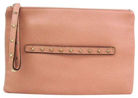 Preload https://img-static.tradesy.com/item/27002114/studs-women-s-light-pink-leather-clutch-0-1-540-540.jpg