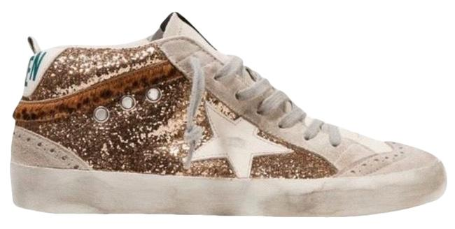Golden Goose Deluxe Brand Mid Star Glitter Distressed Leather Sneakers Size EU 41 (Approx. US 11) Regular (M, B) Golden Goose Deluxe Brand Mid Star Glitter Distressed Leather Sneakers Size EU 41 (Approx. US 11) Regular (M, B) Image 1