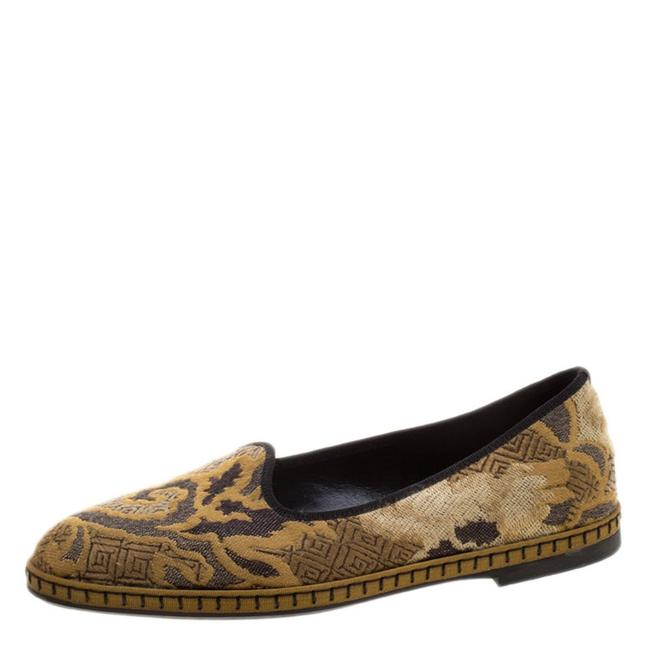 Etro Beige Brocade Loafers 37.5 Flats Size US 7 Regular (M, B) Etro Beige Brocade Loafers 37.5 Flats Size US 7 Regular (M, B) Image 1