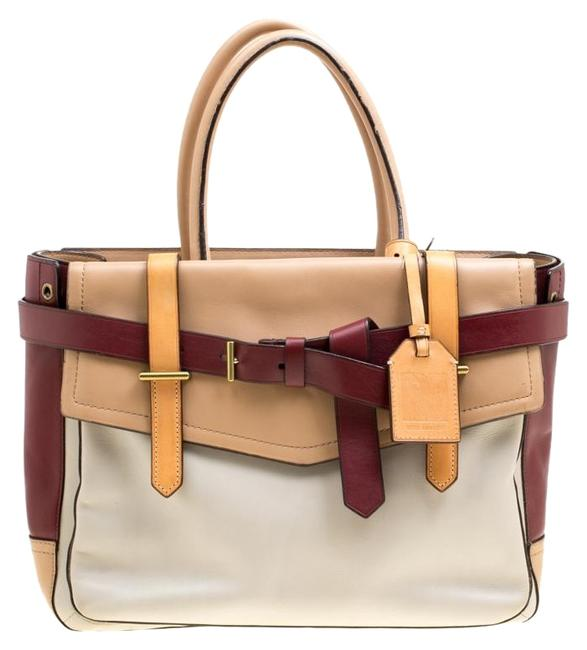 Reed Krakoff Boxer Multicolor Leather Tote Reed Krakoff Boxer Multicolor Leather Tote Image 1