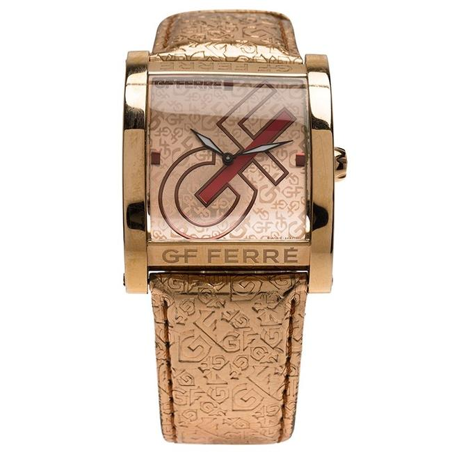 Gianfranco Ferre Gold Pink Gold-plated Stainless Steel 9046m Women's Wristwatch 36mm Watch Gianfranco Ferre Gold Pink Gold-plated Stainless Steel 9046m Women's Wristwatch 36mm Watch Image 1