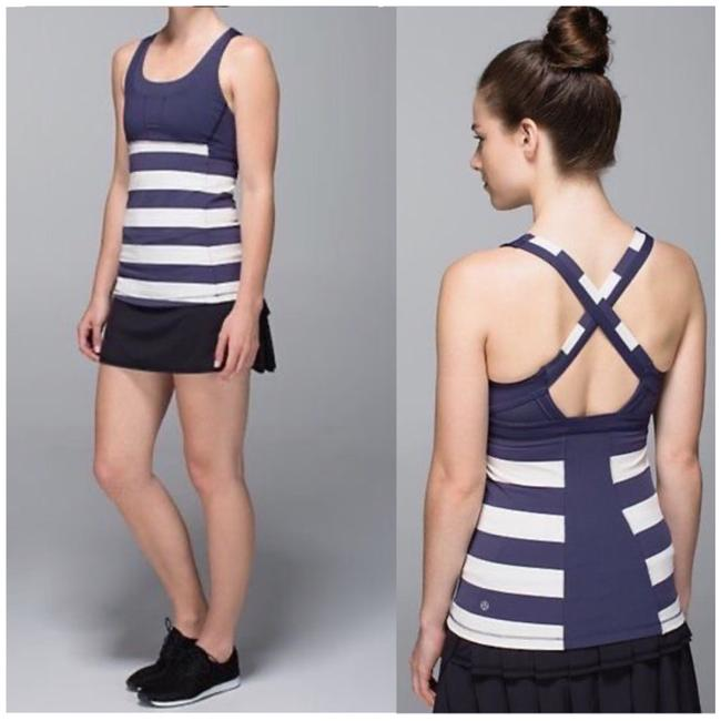 Item - Navy Blue / White Stuff Your Bra Cadet Striped Sz. Tank Top/Cami Size 2 (XS)