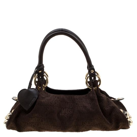 Preload https://img-static.tradesy.com/item/27002552/moschino-dark-signature-studded-brown-canvas-and-leather-satchel-0-0-540-540.jpg