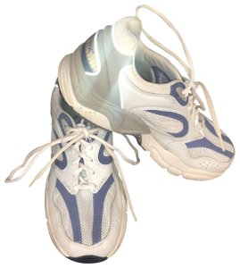 Aetrex blue and white Athletic