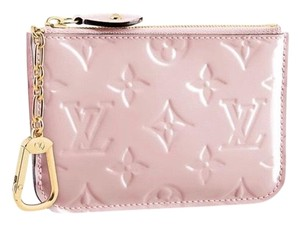 Louis Vuitton Louis Vuitton Rose Ballerine Vernis Key pouch