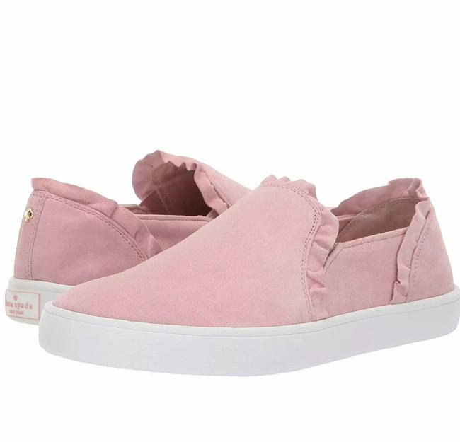 Item - Pink New York Womens Lilly Suede Sneakers Flats Size US 9 Regular (M, B)