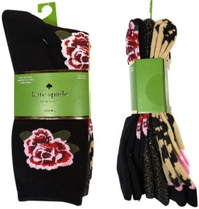 Kate Spade Kate Spade New York Women's Socks 3 Pairs OS NWT