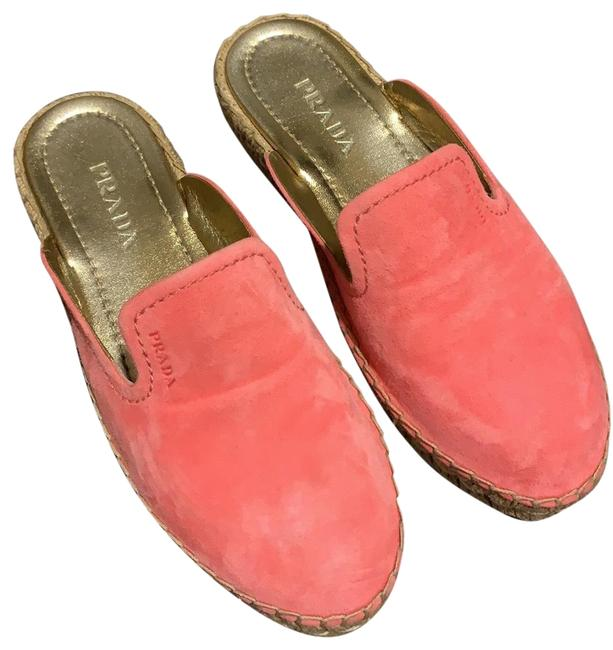 Item - Pink Hot Suede Mules/Slides Size EU 36.5 (Approx. US 6.5) Regular (M, B)