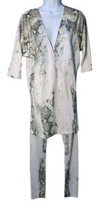 Roberto Cavalli Top white, black, grey, creme