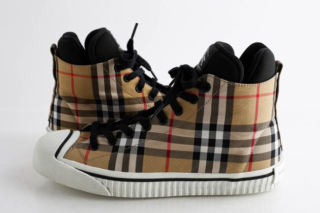 Item - Multicolor Kilbourne Check High Top Sneakers Shoes