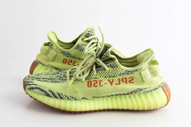 Item - Yellow Boost 350 V2 Semi Frozen Shoes