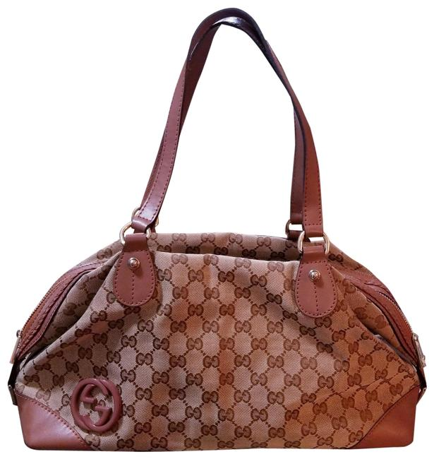 Gucci Brown Leather Baguette Gucci Brown Leather Baguette Image 1
