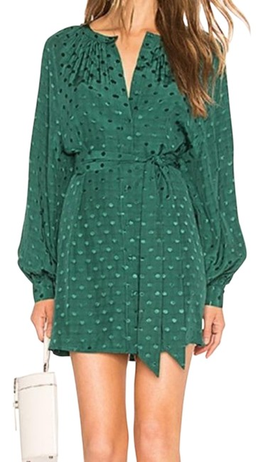 Item - Green Topanga Short Night Out Dress Size 4 (S)