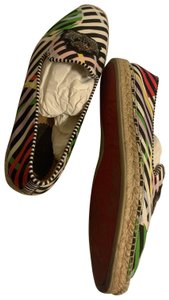 Christian Louboutin Multi Color, black, green, yellow Athletic