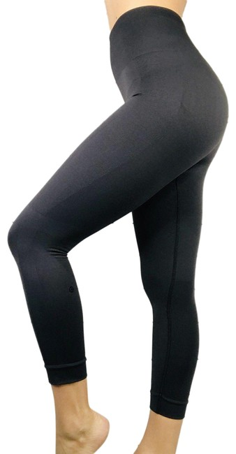 Item - Gray Zone In Compression Seamless Tights Activewear Bottoms Size 8 (M, 29, 30)