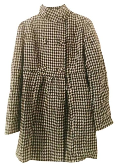Item - Houndstooth with Bow (2) Coat Size 0 (XS)