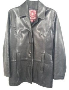 The Territory Ahead Small Blazer Leather Jacket