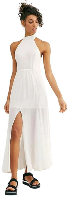 Item - White Zane Long Casual Maxi Dress Size 10 (M)