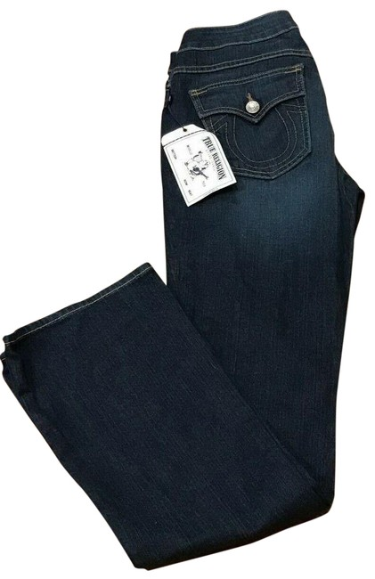 Item - Blue Dark Rinse Holden Becky Boot Cut Jeans Size 29 (6, M)