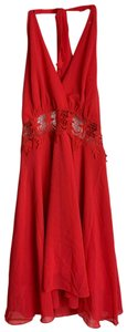 Love Culture short dress red on Tradesy