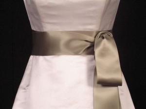 Moss Green Ribbon Sash