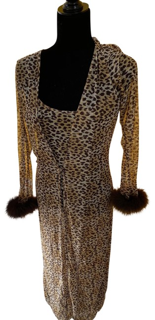 Item - Leopard Sexy Loungewear Cover-up/Sarong Size 6 (S)