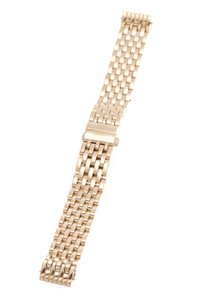 Michele Michele Watch Band - Gold Plated Steel