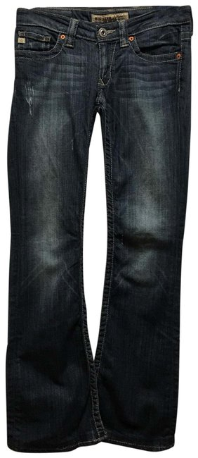 Item - Distressed Sweet Ultra Low Rise Flare Leg Jeans Size 2 (XS, 26)