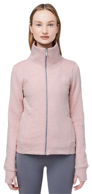 Item - Pink Moving Meditation Jacket Heathered Berry Activewear Gear Size 10 (M, 31)