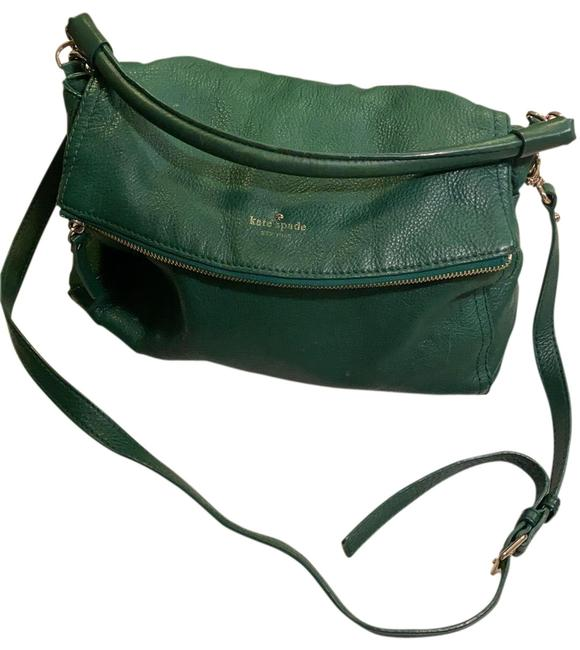 Item - With Black White Interior Kelly Green and Brass Hardware Leather Hobo Bag
