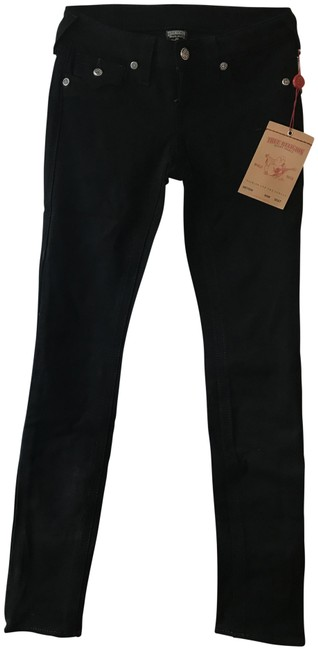 Item - Black Dark Rinse Julie Crystal Skinny Jeans Size 24 (0, XS)