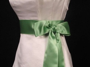 Celery Green Ribbon Sash