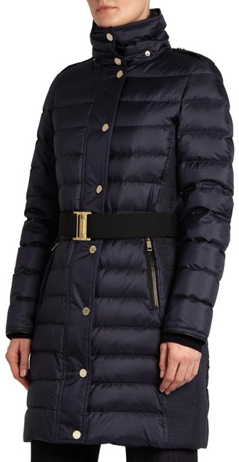 Item - Navy Abbeydale Belted Puffer Down Coat Size 6 (S)