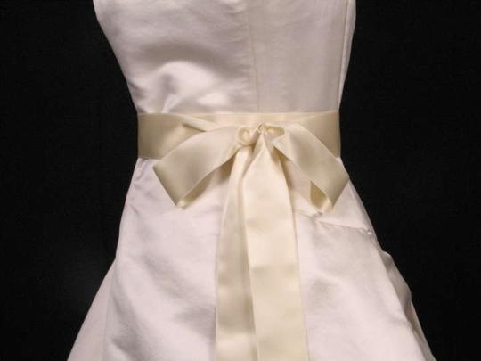 Cream Ribbon Sash