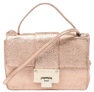 Jimmy Choo Leather Suede Shoulder Bag
