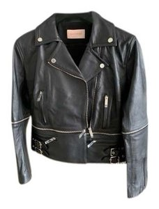 Christopher Kane black Leather Jacket