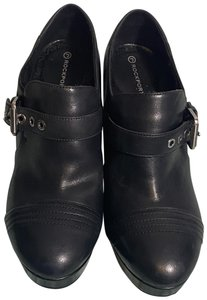 Rockport Buckle Ankle Black Boots