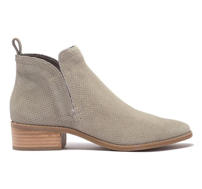 Item - Smoke Perf Suede Tivon Perforated 7.5m Boots/Booties Size US 7.5 Regular (M, B)