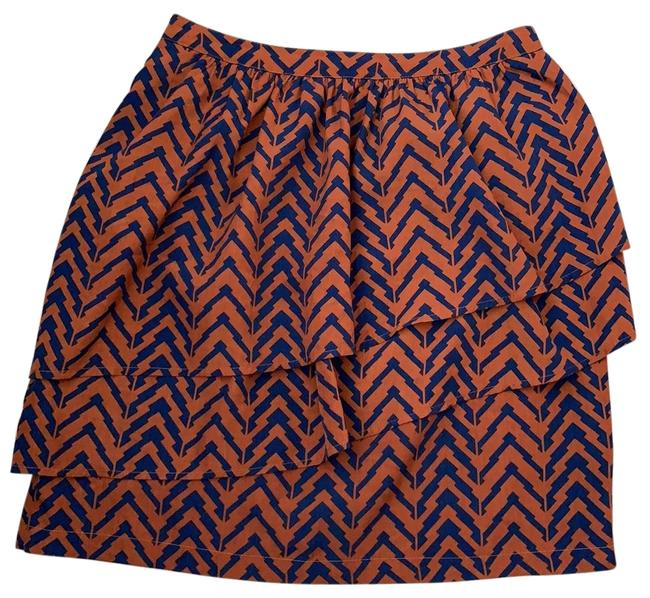 Item - Brown Tiered Skirt Size 2 (XS, 26)
