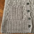 Caslon Gray Wool Cable Knit Sweater Vest Size 8 (M) Caslon Gray Wool Cable Knit Sweater Vest Size 8 (M) Image 7