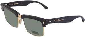Céline Green Rectangular Ladies Sunglasses