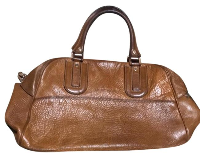"""Longchamp """"as Is"""" Rawhide/Natural Leather Satchel Longchamp """"as Is"""" Rawhide/Natural Leather Satchel Image 1"""