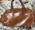 """Longchamp """"as Is"""" Rawhide/Natural Leather Satchel Longchamp """"as Is"""" Rawhide/Natural Leather Satchel Image 2"""