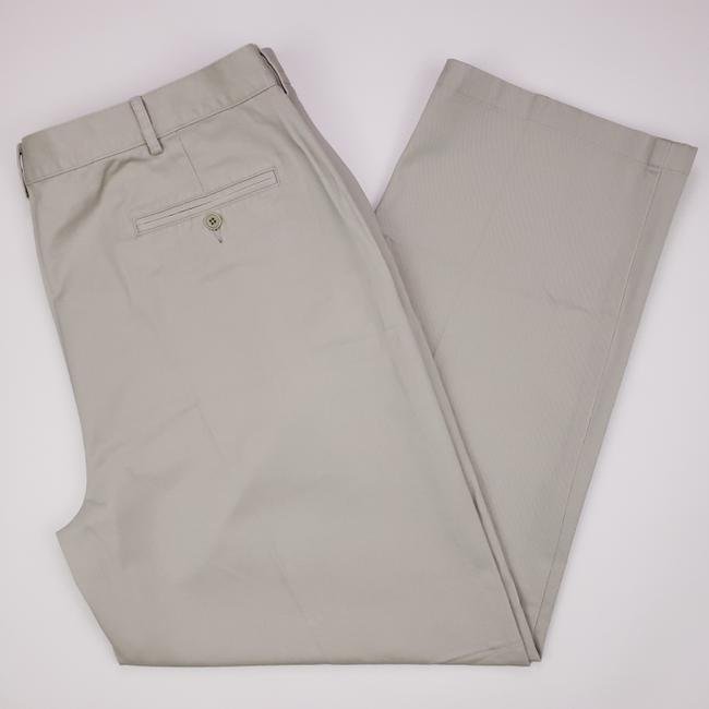 Item - Beige New Classic Fit Chinos 42x31 Flat Front Sandstone Mens Shirt