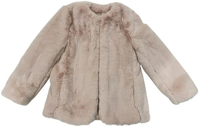 Gap Pink Blush Faux Jacket Coat Size 0 (XS) Gap Pink Blush Faux Jacket Coat Size 0 (XS) Image 1