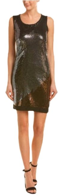 Item - Black Sequin Sleeveless Sweater Short Night Out Dress Size 4 (S)
