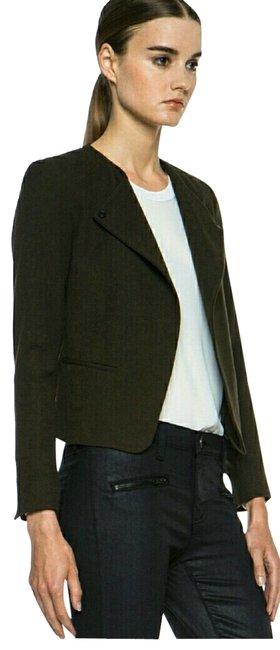 Item - Olive Green Wool Jacket Size 4 (S)